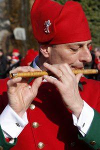 I pifferi, colonna del Carnevale di Ivrea