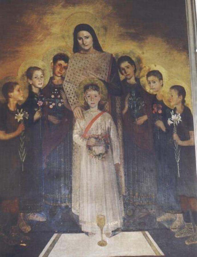 TABLEAU POÉTIQUE DES SACREMENTS EN GÉNÉRAL.  Vicomte Walsh – 1852 S.Sinforosa-