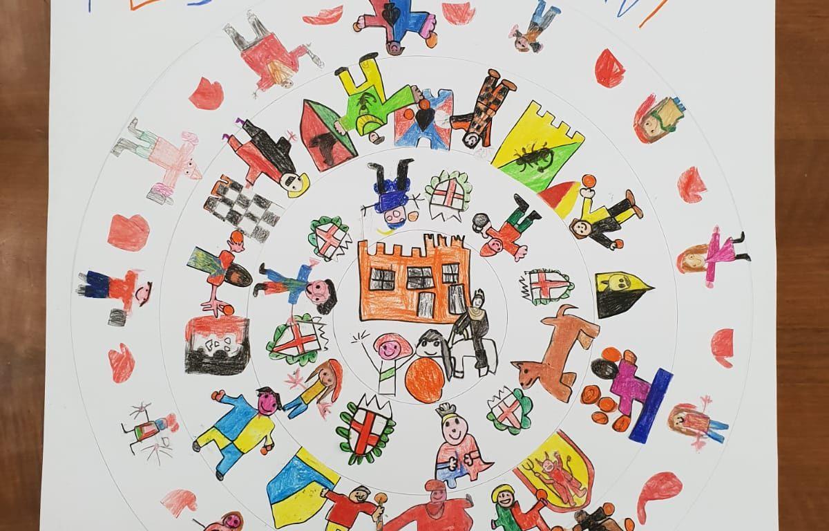 Carnevale Ivrea Bambini Al Centro Eletto Il Manifesto Della Scuola